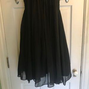 PAB Dresses - Authentic Vintage PAB 1960s chiffon cocktail dress